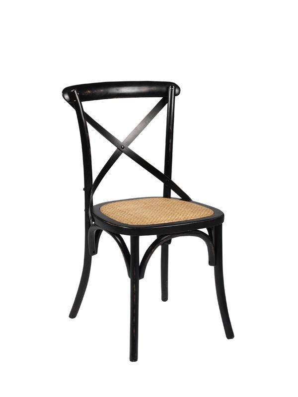 Bistro spisebordsstol - sort fra N/A på unoliving.com