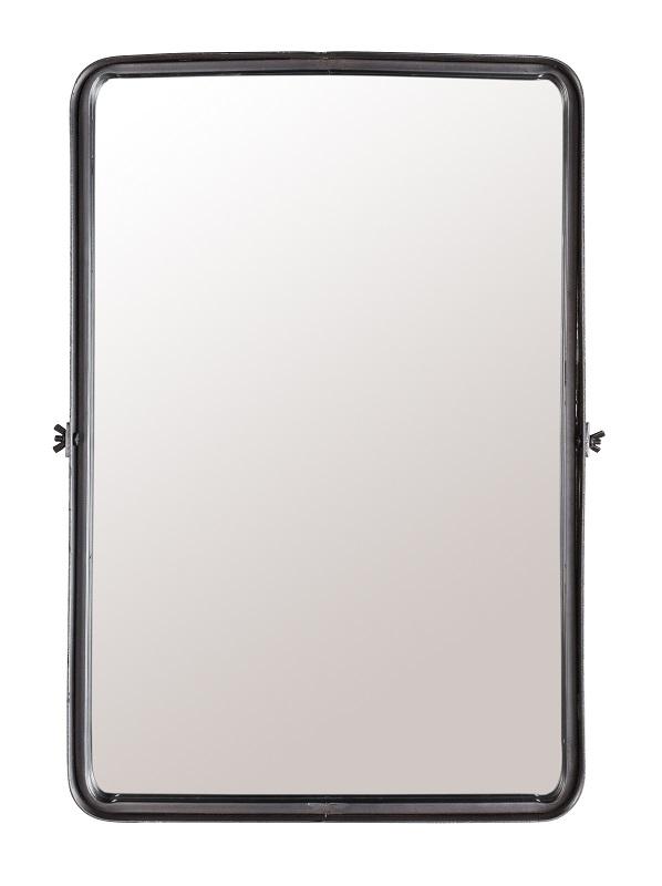 Dutchbone - poke - l spejl - sort fra Dutchbone på unoliving.com