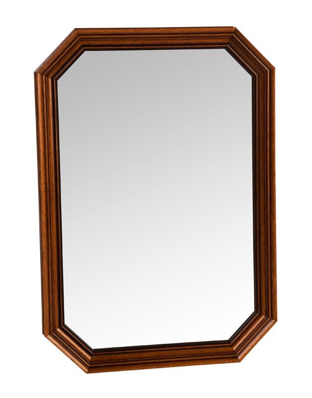 Sienna spejl - mørktræ fra N/A på unoliving.com