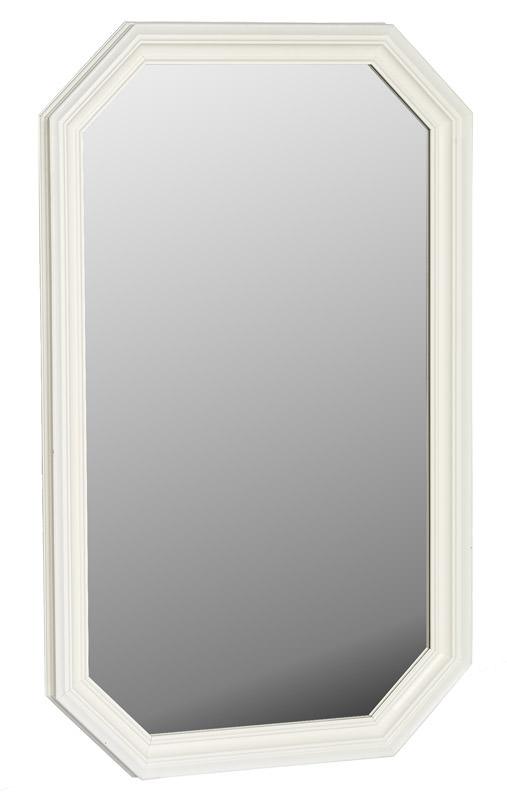 N/A Sienna spejl - hvid på unoliving.com