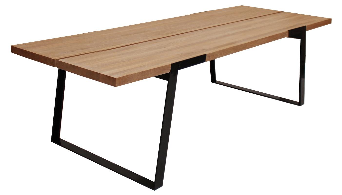 Silva spisebord - 290 cm - vild eg fra Canett fra unoliving.com