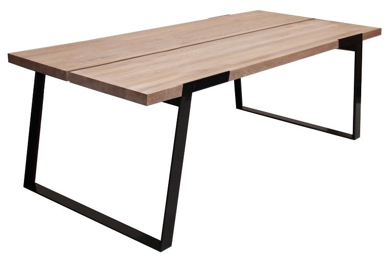 Canett – Silva spisebord - 240 cm - hvid olieret på unoliving.com