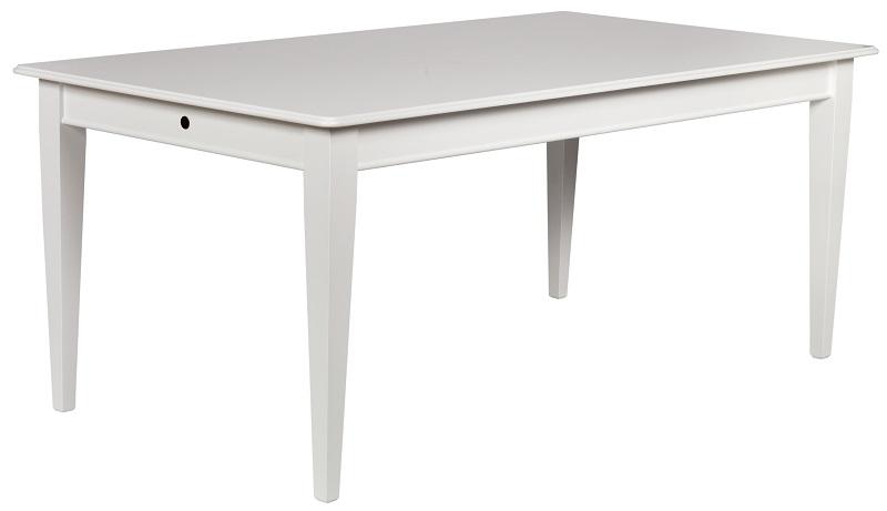N/A – Wolfgang spisebord - hvid - 180x100 fra unoliving.com
