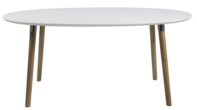 Susan spisebord - hvid - 170x100 fra N/A fra unoliving.com