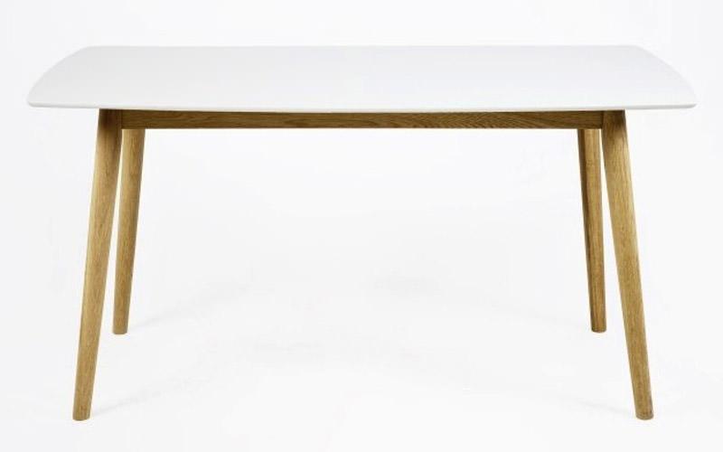 N/A – Julius spisebord - hvid - 150x80 fra unoliving.com