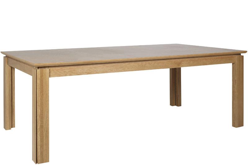 N/A Haltop spisebord - olieret egefinér fra unoliving.com