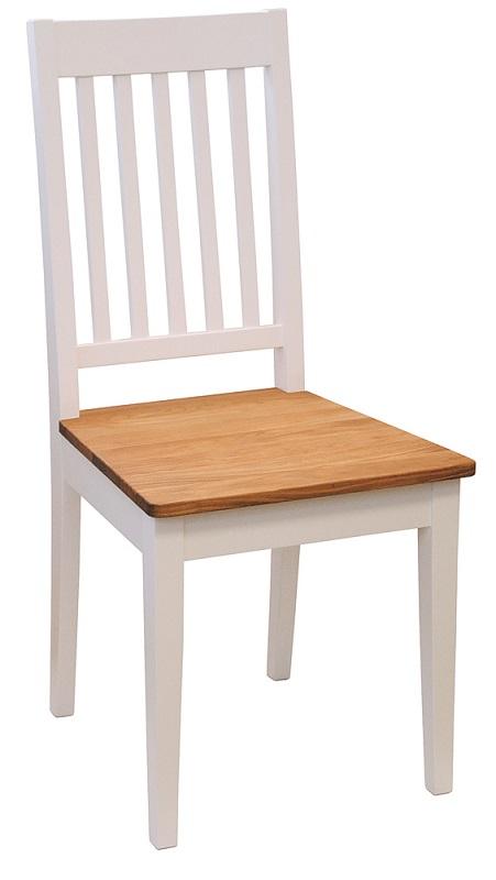 N/A – Bay spisebordsstol - hvidmalet fra unoliving.com