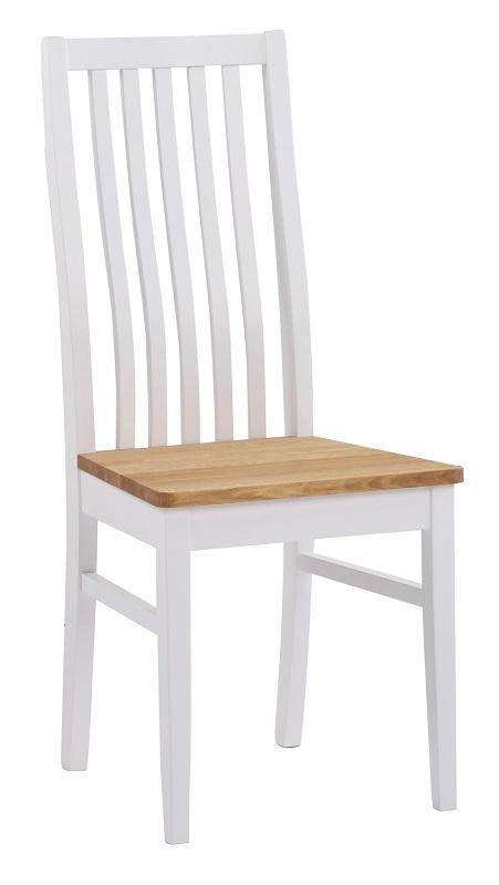 Chris spisebordsstol - hvid fra N/A fra unoliving.com