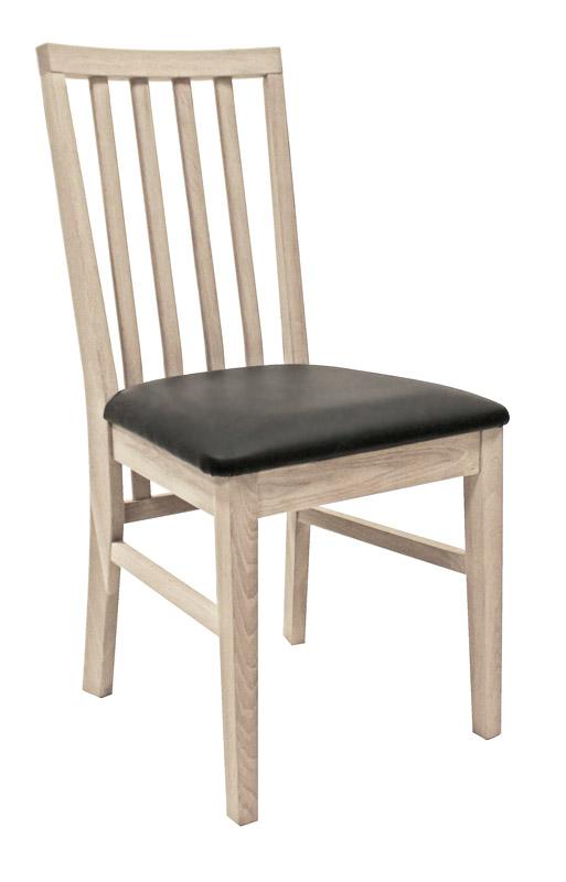 Canett – Canett mason  spisebordsstol ege finér med pu sæde fra unoliving.com