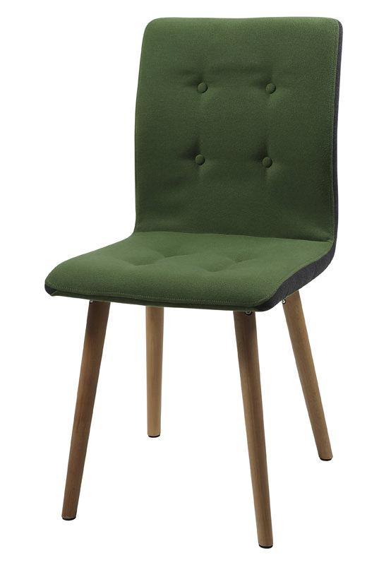 N/A – Sue spisebordsstol - grøn fra unoliving.com