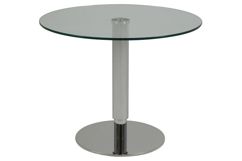 Stella sofabord ø60 - top i klar glas fra N/A på unoliving.com