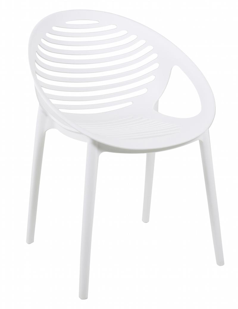 Elements spisebordsstol - hvid pp fra Canett på unoliving.com