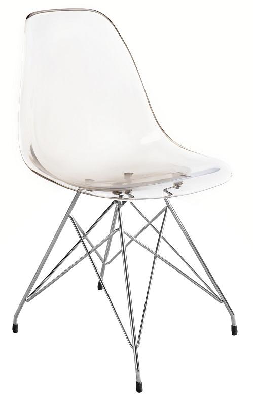 Canett Palace spisebordsstol - smoked akryl fra unoliving.com