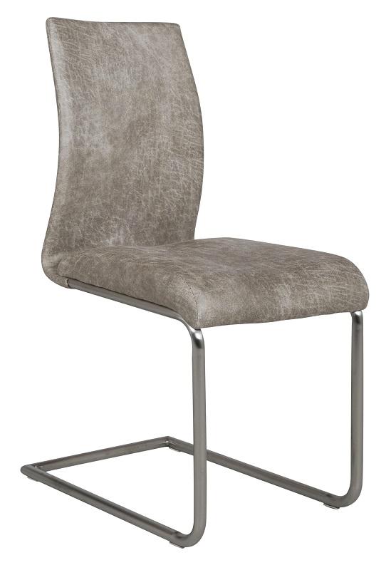Canett Canett clapper spisebordsstol  slæde ben - offwhite på unoliving.com
