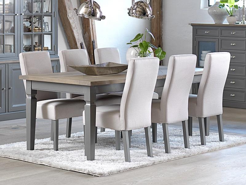 Canett – Flavius spisebordsstol - grå ben fra unoliving.com
