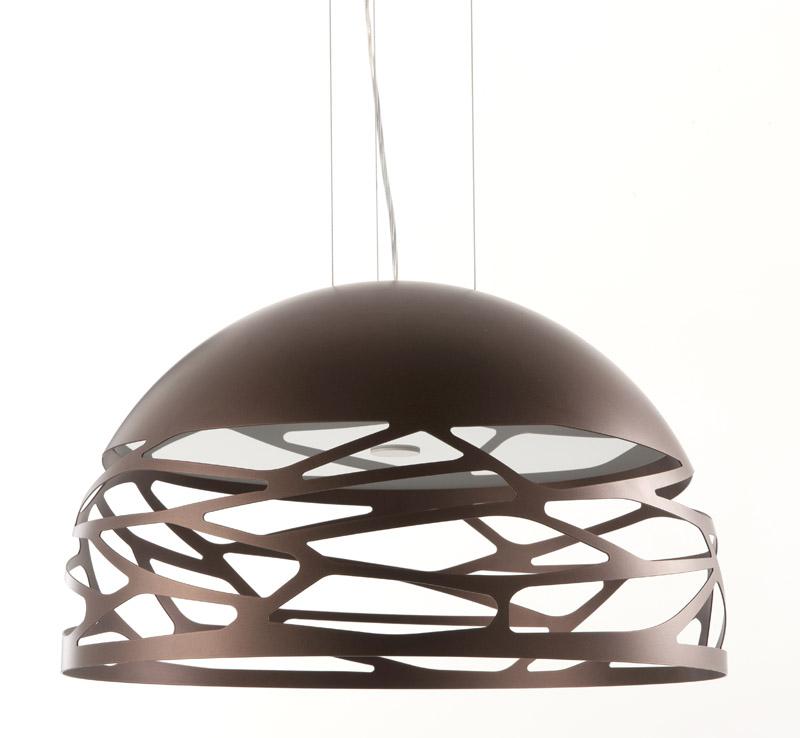 Studio italia Studio italia design kelly pendel - ø80 bronze fra unoliving.com