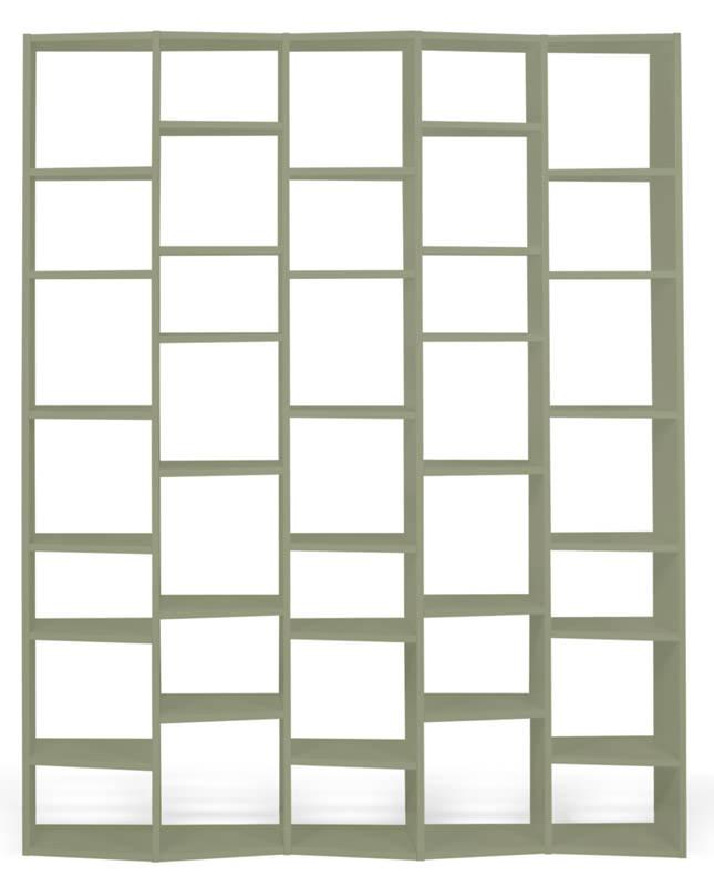 Temahome Temahome - valsa reol - grå 34 rum b:182 fra unoliving.com