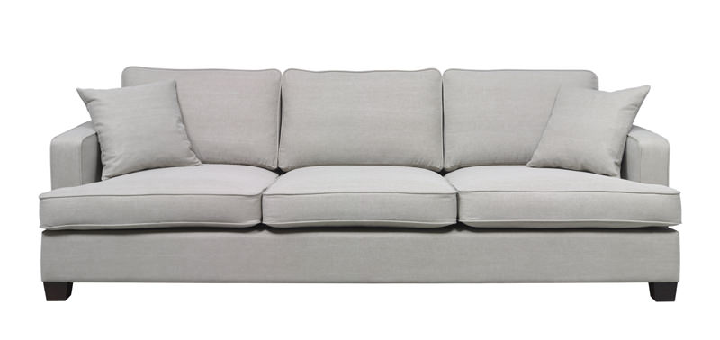 N/A – Shelby xl 3-pers. sofa - beige stof på unoliving.com