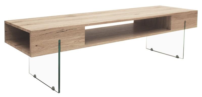 Canett – Canett seattle tv-bord - lyst med glas fra unoliving.com