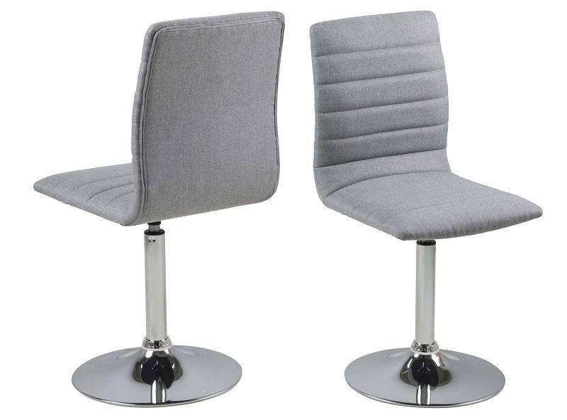 N/A Tanum spisebordsstol m/drejefunktion - lysegrå på unoliving.com