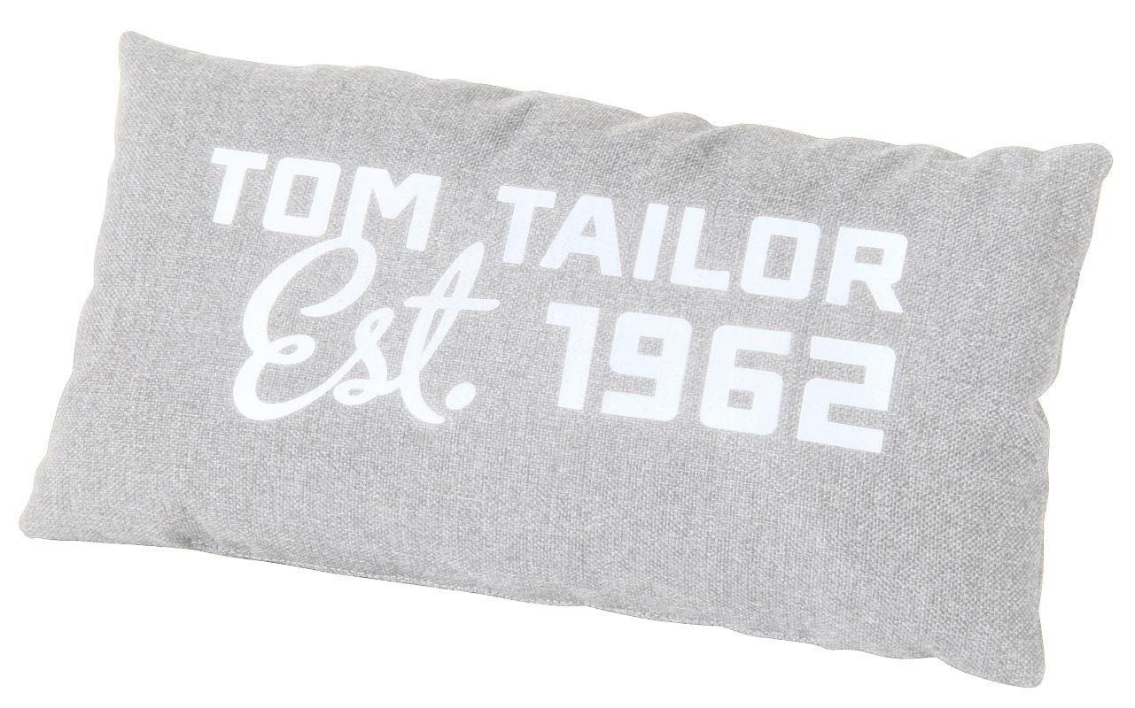 Elements pude med print - lys grå fra Tom tailor fra unoliving.com