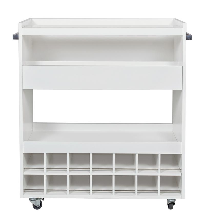 Woodman – Woodman -  minibar i hvid laminat på unoliving.com