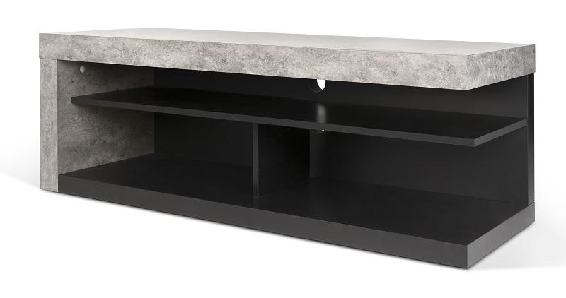 Temahome - detroit tv-bord - grå fra Temahome på unoliving.com