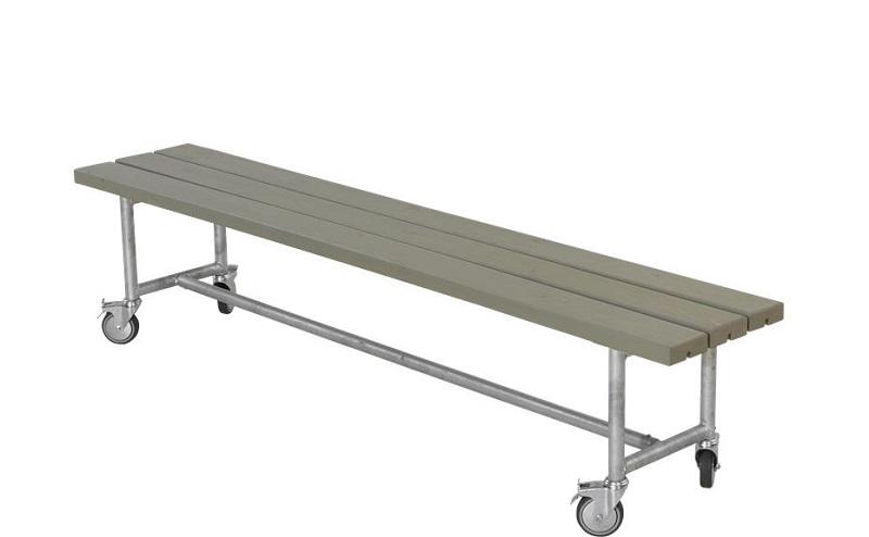 Plus - urban picnic plankebænk l207 cm - gråbrun fra N/A fra unoliving.com