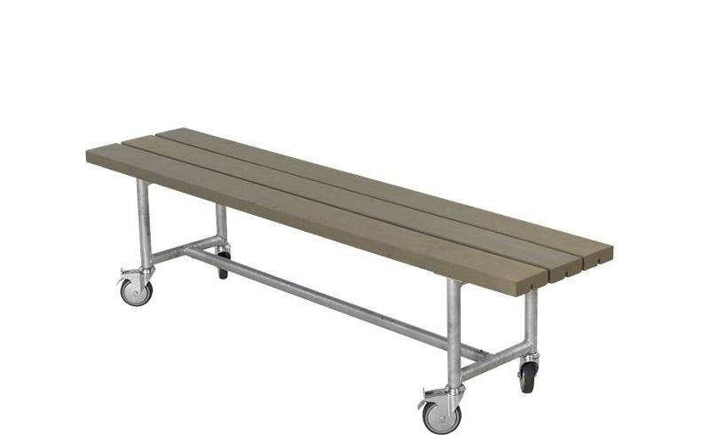 N/A Plus - urban picnic plankebænk l177 cm - gråbrun fra unoliving.com