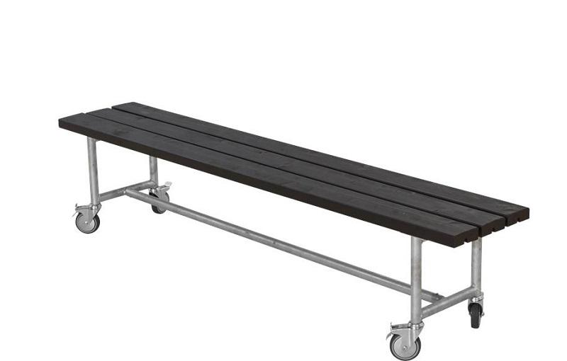 N/A – Plus - urban picnic plankebænk l207 cm - sort fra unoliving.com
