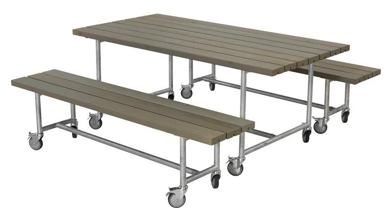 N/A – Plus - urban picnic plankesæt 2 - gråbrun fra unoliving.com