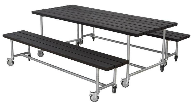 N/A – Plus - urban picnic plankesæt 2 - sort på unoliving.com
