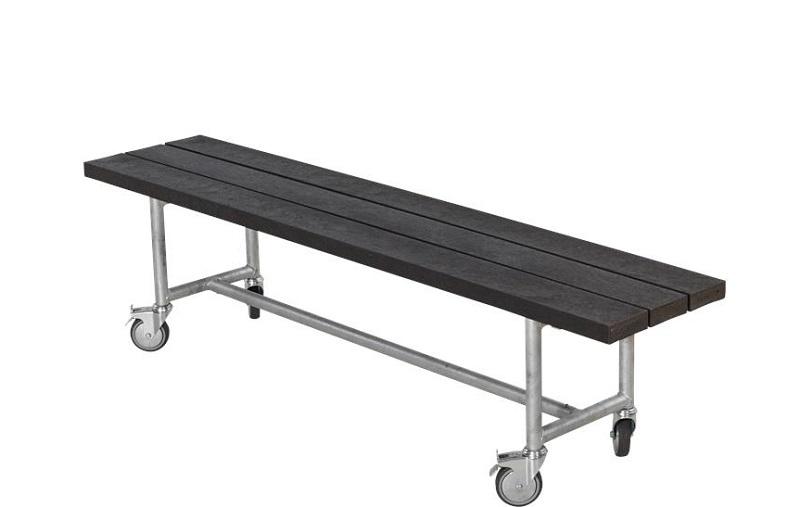 N/A – Plus- urban picnic plankebænk - sort på unoliving.com