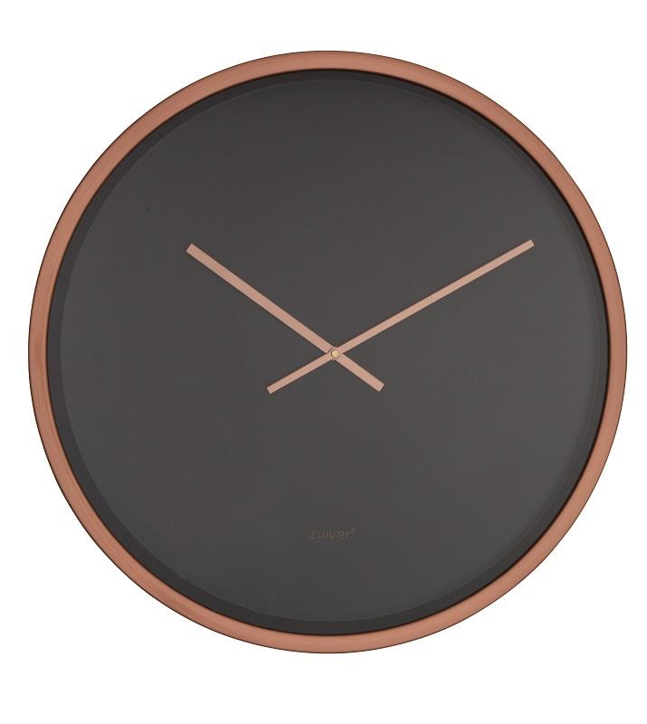 Zuiver - time bandit vægur - sort/kobber - ø60 fra Zuiver på unoliving.com