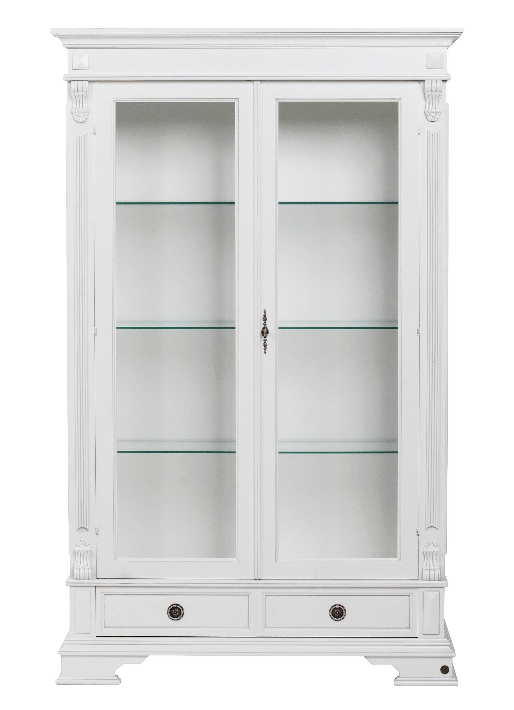 N/A – Chopin vitrineskab - hvid på unoliving.com