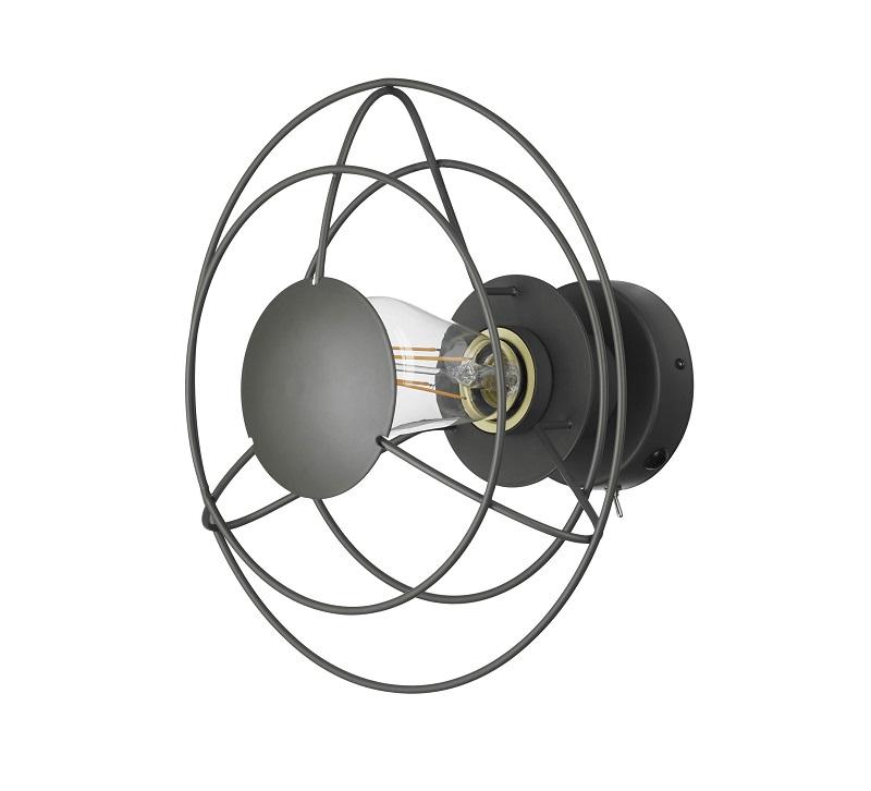 Billede af Watt a lamp - Radio Væglampe - Mørk grå
