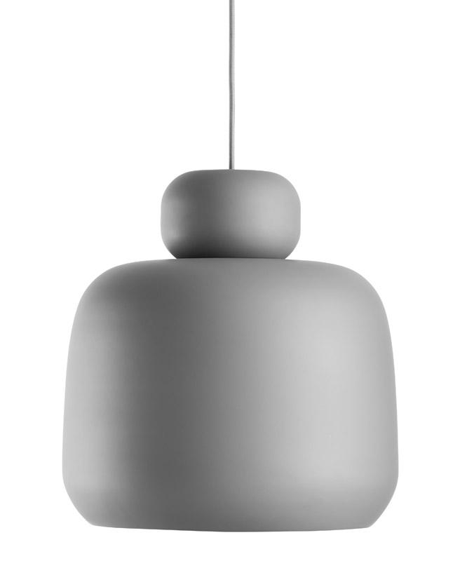 Woud Woud - stone pendel - grå på unoliving.com