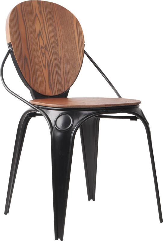 Zuiver - louix spisebordsstol - sort fra Zuiver på unoliving.com