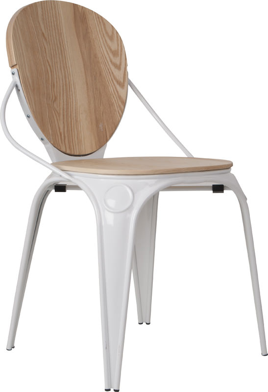 Zuiver – Zuiver - louix spisebordsstol - hvid på unoliving.com