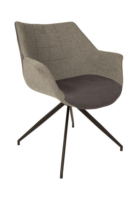 Zuiver Zuiver - doulton spisebordsstol - grå på unoliving.com