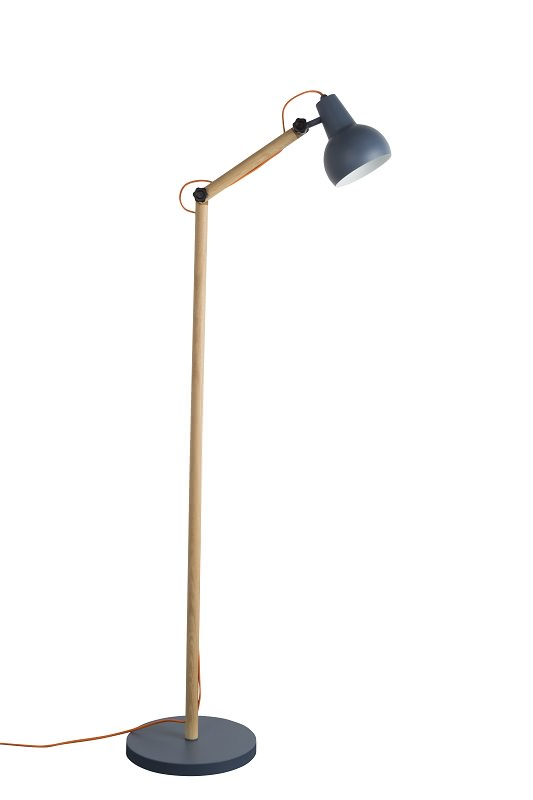 Zuiver Zuiver - study gulvlampe - grå fra unoliving.com