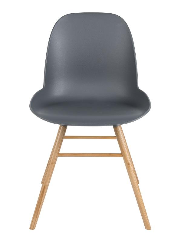 Zuiver Zuiver - albert kuip spisebordsstol - koks grå på unoliving.com