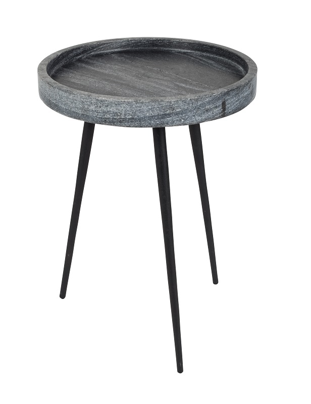 Zuiver – Zuiver - karrara sidebord - grå fra unoliving.com