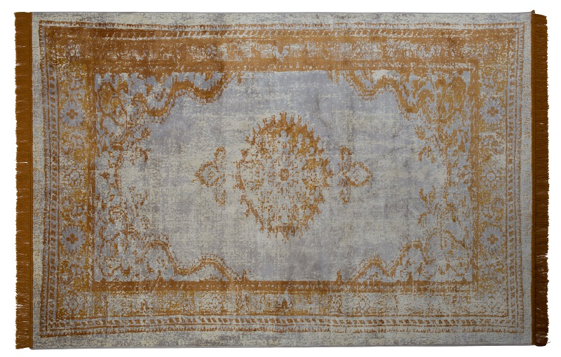 Zuiver – Zuiver - marvel orientalsk tæppe - gylden, 200x300 fra unoliving.com