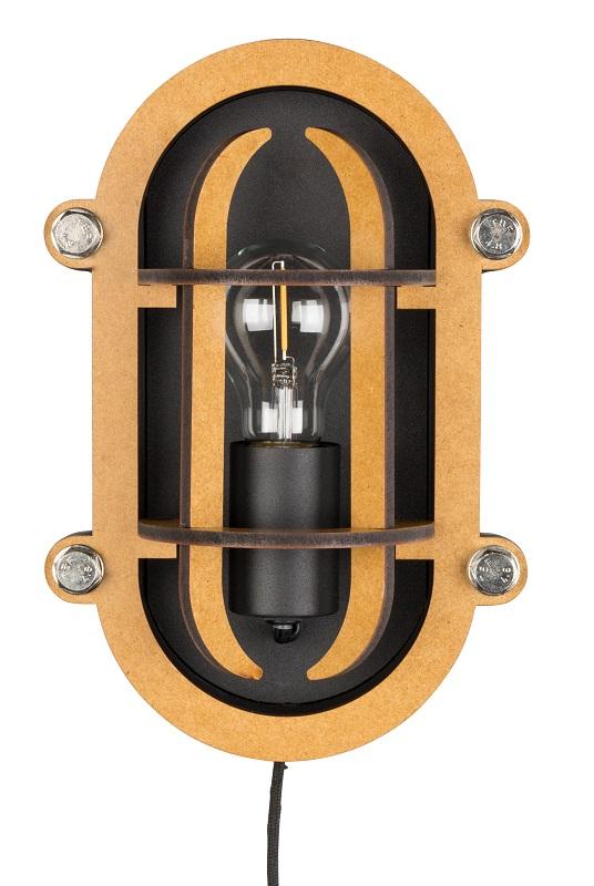 Billede af Zuiver - Navigator væglampe - Sort