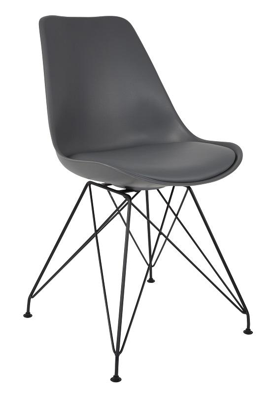N/A – Homii ozzy spisebordsstol - grå på unoliving.com