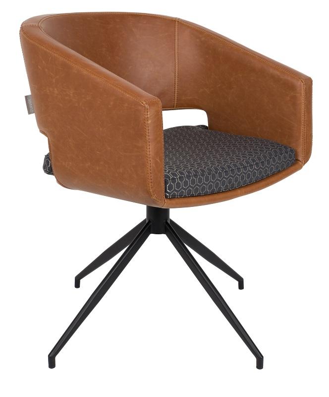 Zuiver – Zuiver - syl spisebordsstol - brun fra unoliving.com