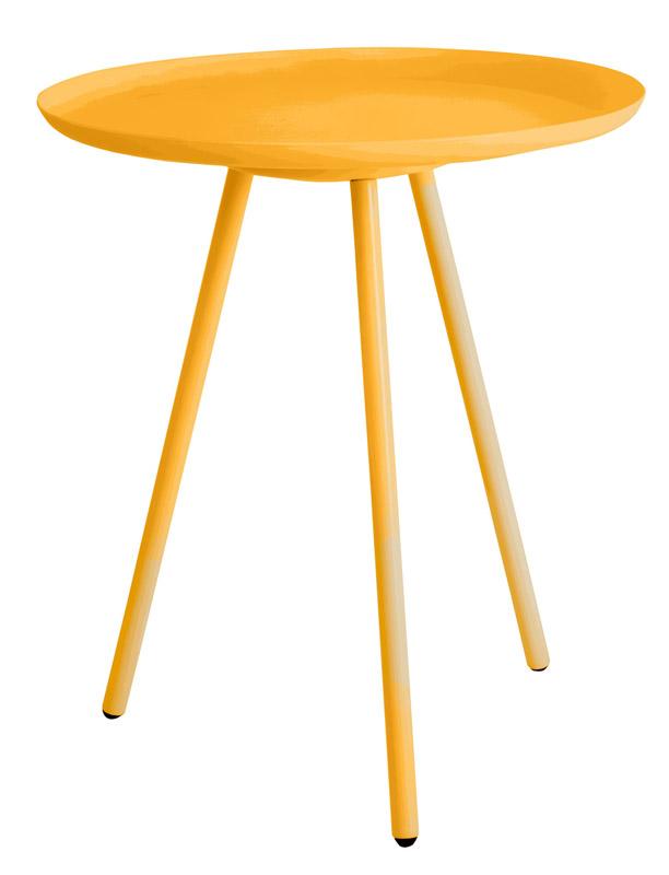 Homii sidebord - gul - ø39 fra N/A fra unoliving.com