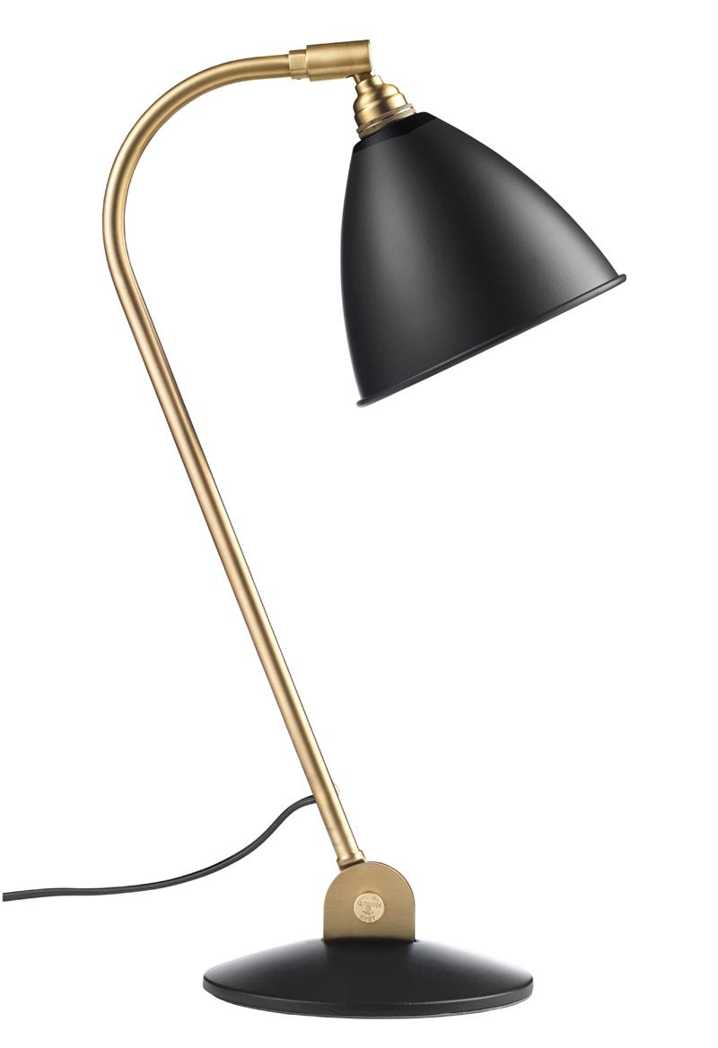 Gubi - bestlite - bl2 bordlampe koks/messing - ø16 fra Gubi på unoliving.com