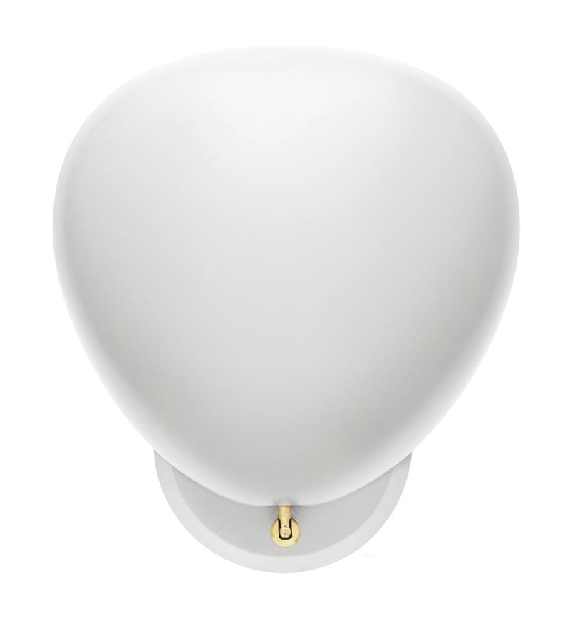 Gubi - cobra væglampe hvid fra Gubi på unoliving.com